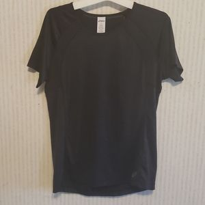 ASICS Womens Athltic Top Small Black